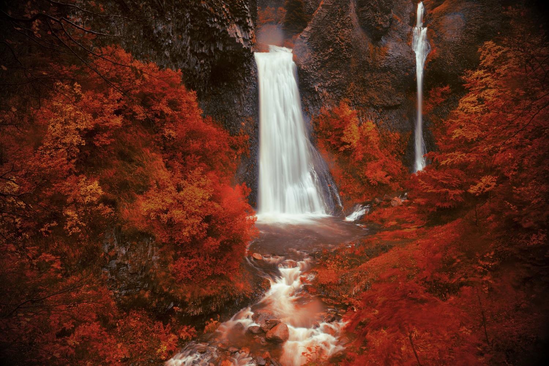 waterfall of Ray-Pic by david huguet