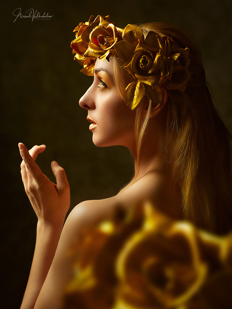 Golden Nymph by Nirmal Vedhachalam