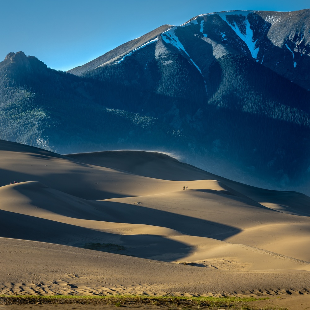 Great Sand Dunes of Colorado by anthony crouch