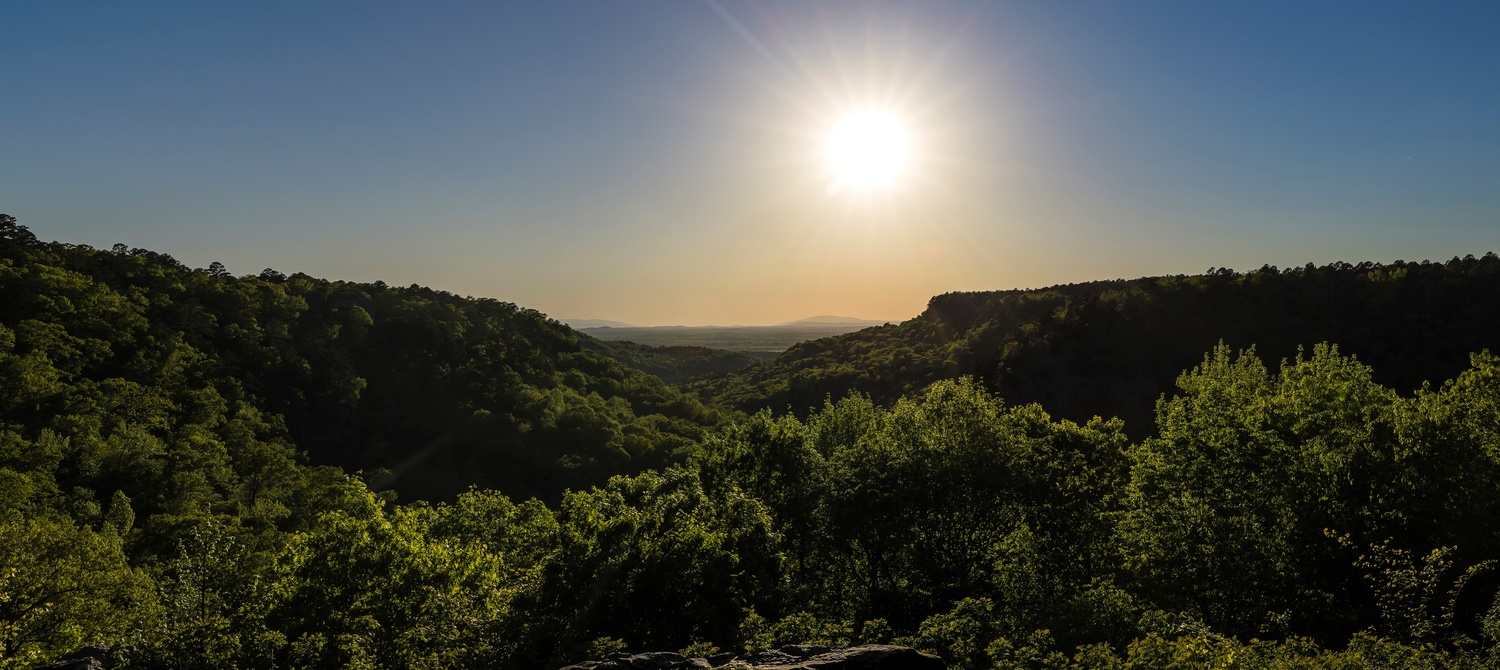 Sunset in Ozarks by anthony crouch