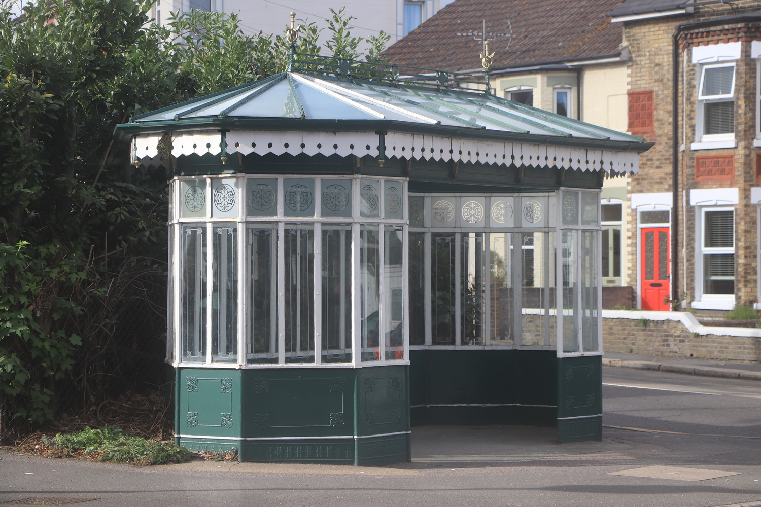 Bus Shelter by Kevin Sanders