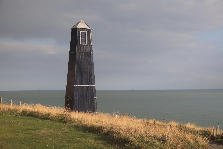 Samphire Hoe Tower by Kevin Sanders