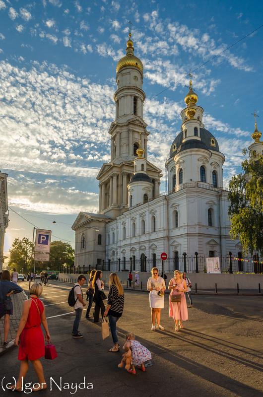 Dormition Cathedral. Kharkiv. Ukraine by Igor Nayda