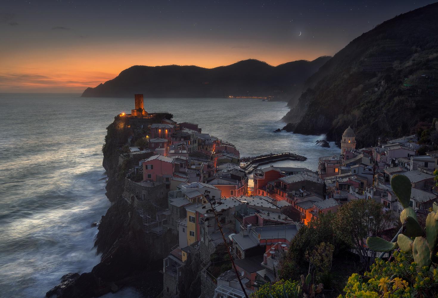 Vernazza by Night by Davide Donati