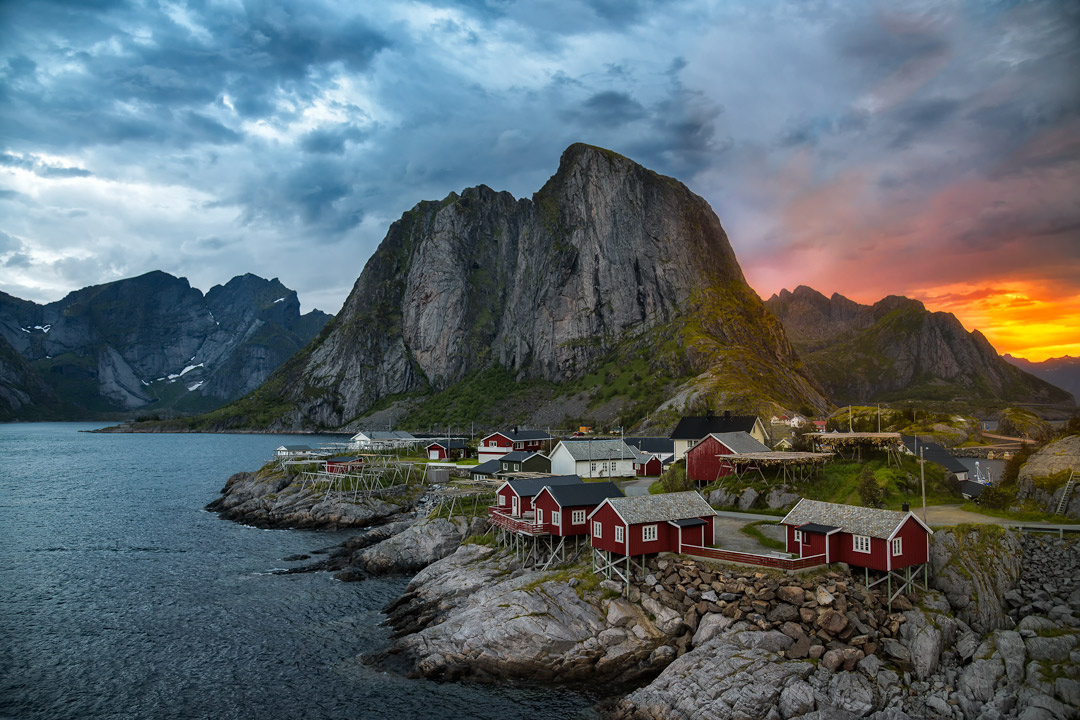 The North's Midnight Sun by Marius Andal