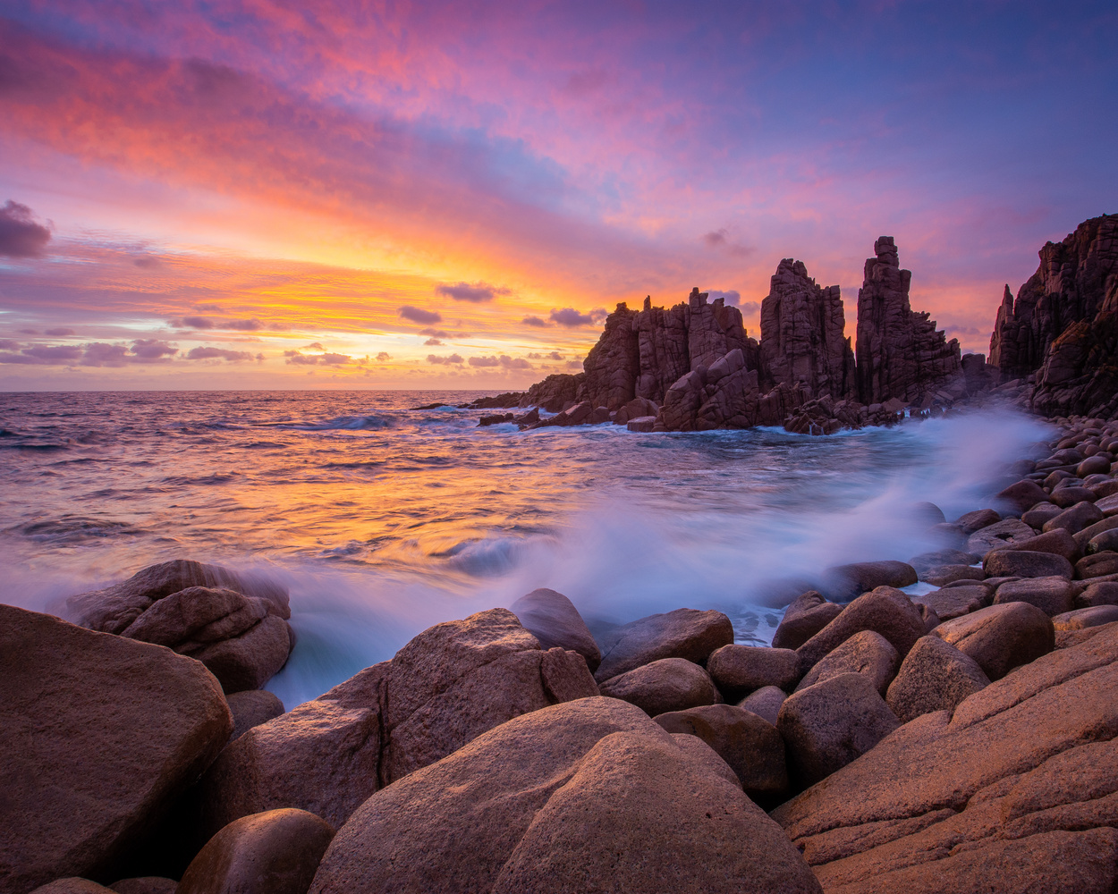 The Pinnacles by Mark Phillips