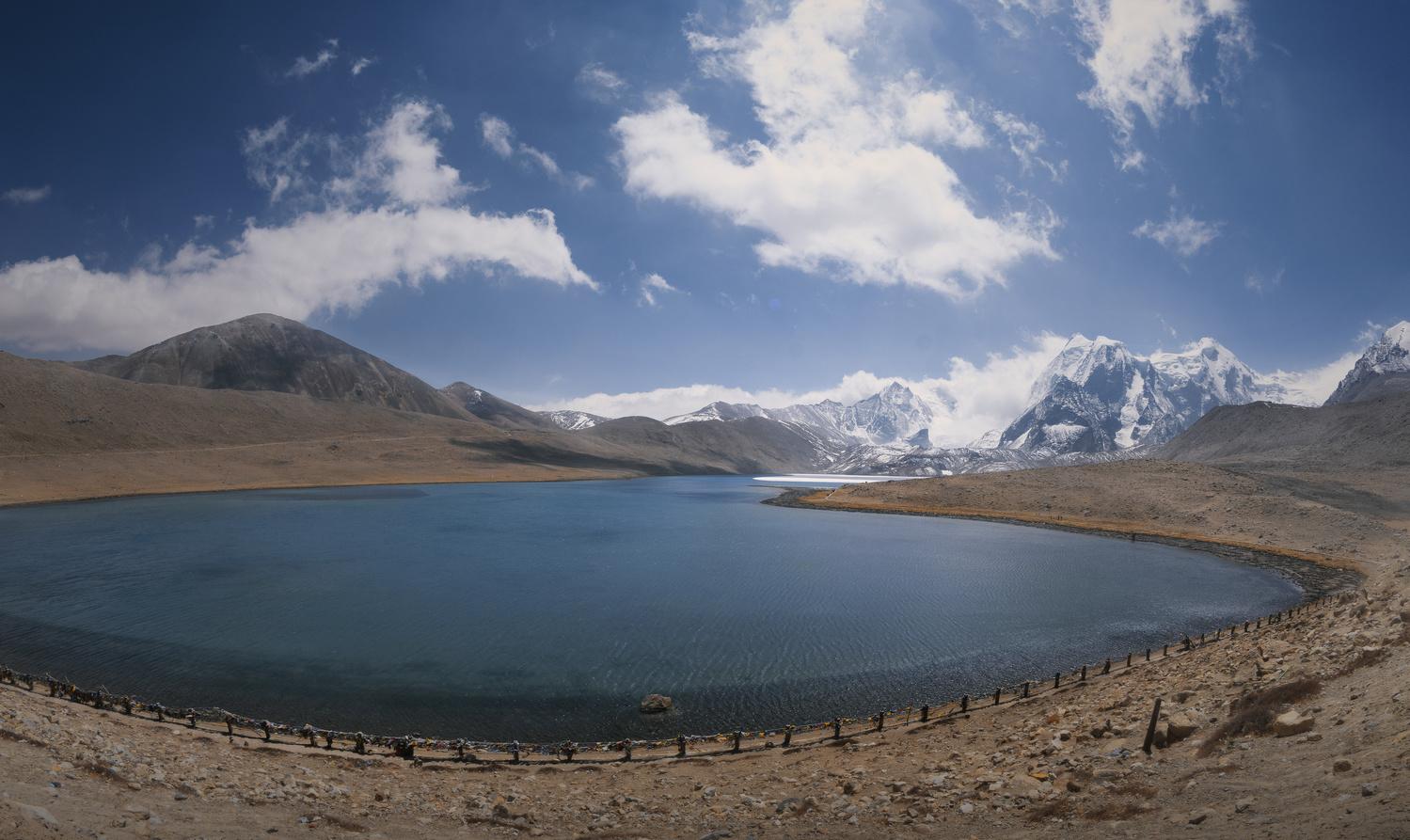 Gurudongmar Lake by Subhadip Saha