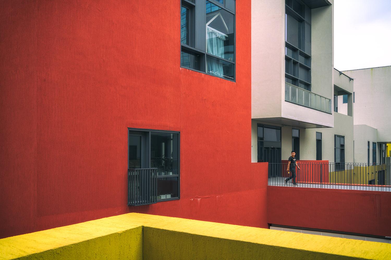Run into color by Ke Liu