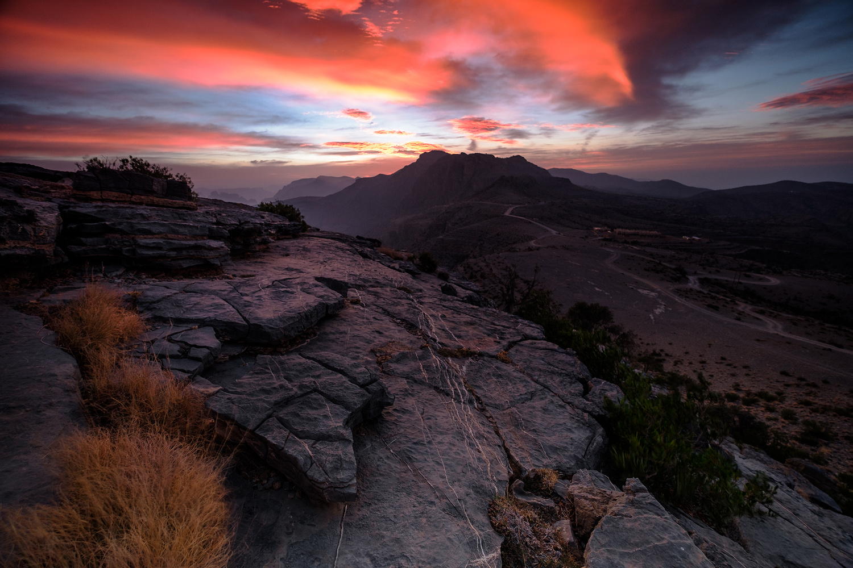 Oman Sunrise by Nejc Trpin