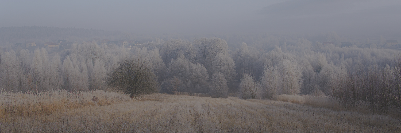 Winter panorama by Lukasz J