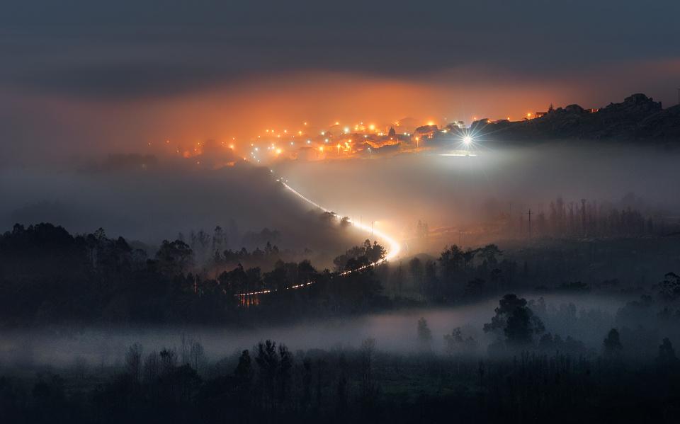 Through the fog by Ken Mitchell