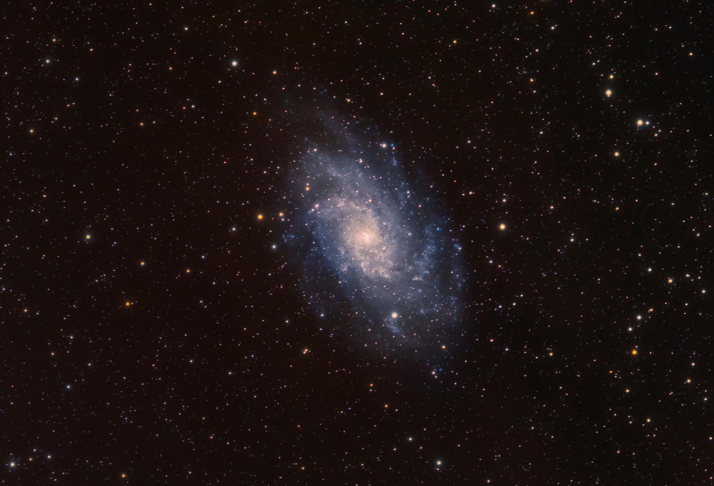 M33 Triangulum Galaxy by Ken Mitchell