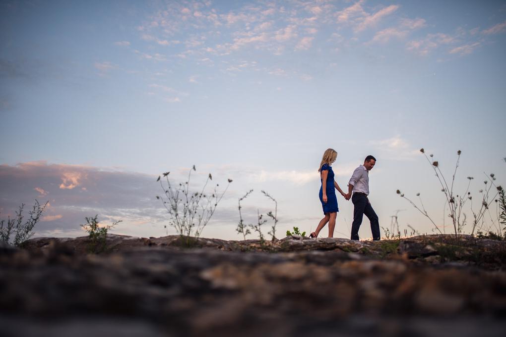 Ryan and Maddie walk by Jason Vinson