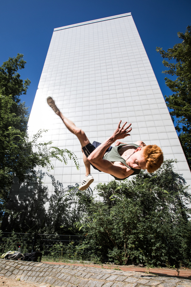 James Parkour Shoot by Brad Wendes