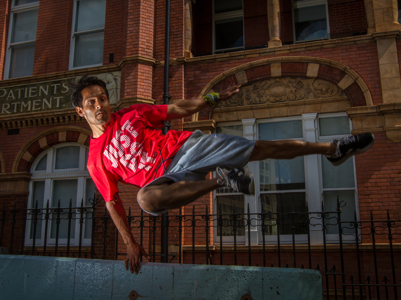 Tommy Parkour London by Brad Wendes