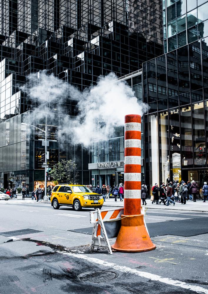 New York Street by Brad Wendes