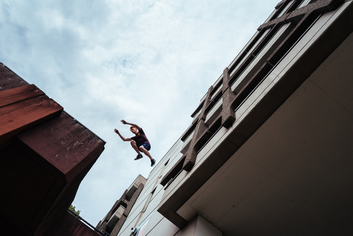 James Parkour by Brad Wendes