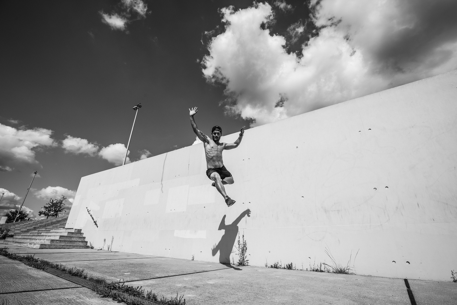 Tommy Parkour by Brad Wendes
