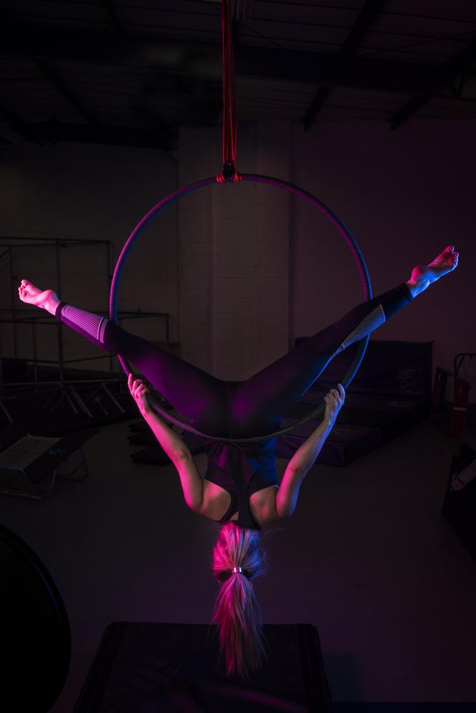 Maggie Aerial Hoop by Brad Wendes