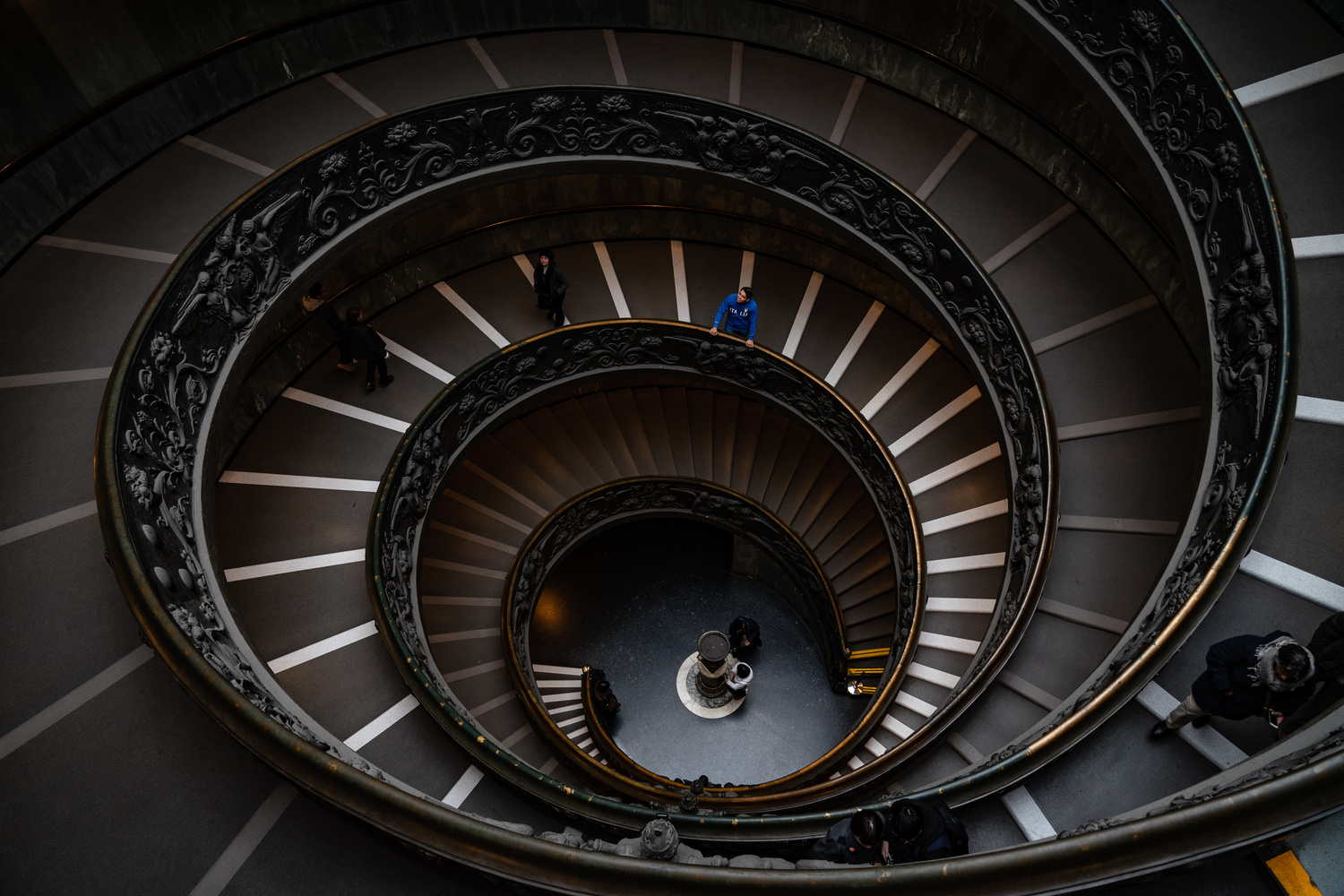 The Vatican Museum Exit by Dylan Zoebelein