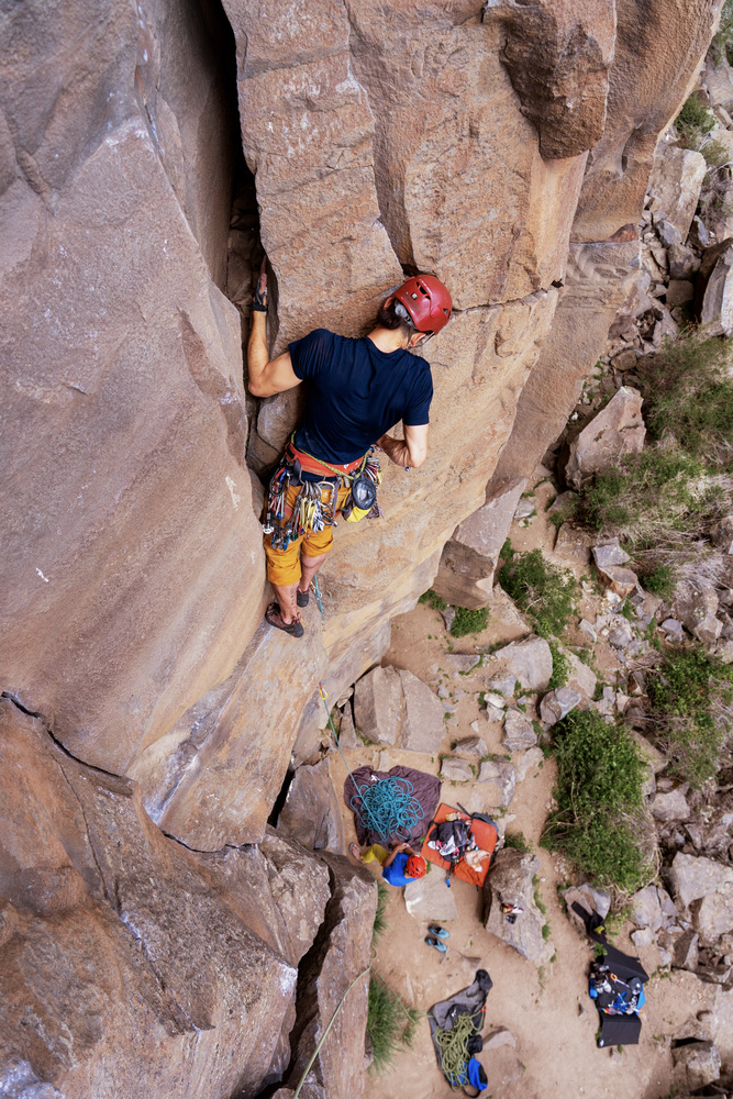 Trad Climbing at Smith Rock, Oregon by Dylan Zoebelein