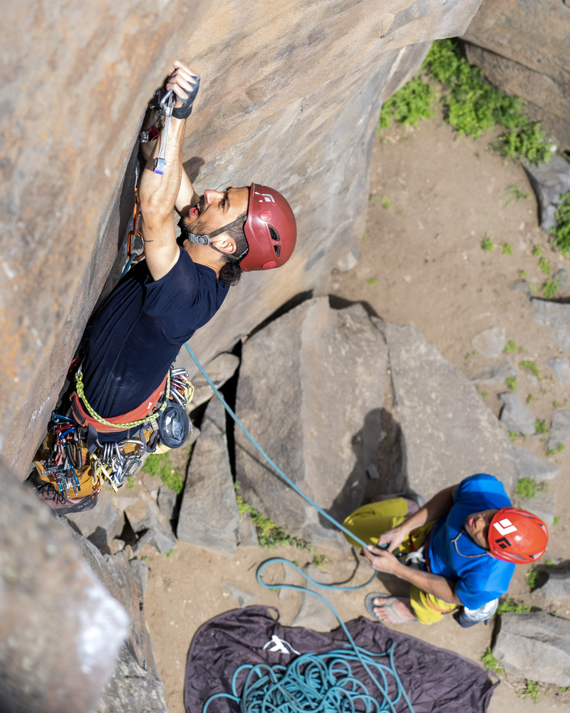 Trad Lead and Smith Rock by Dylan Zoebelein
