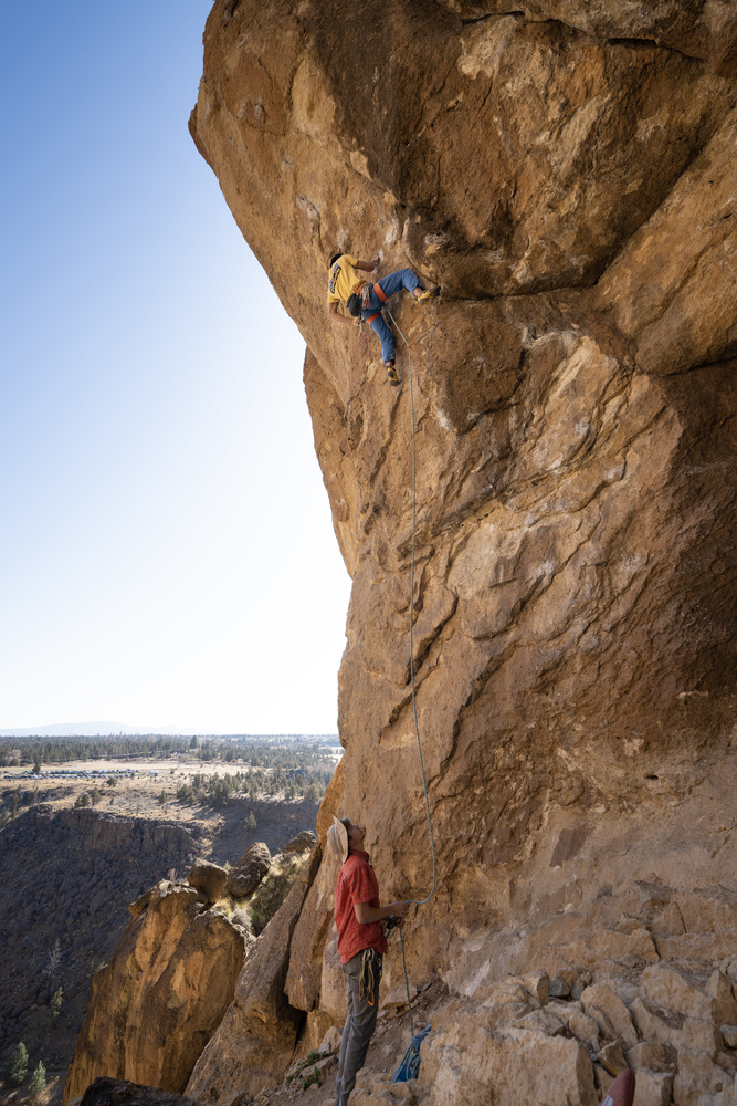 Smith Rock Climbing by Dylan Zoebelein