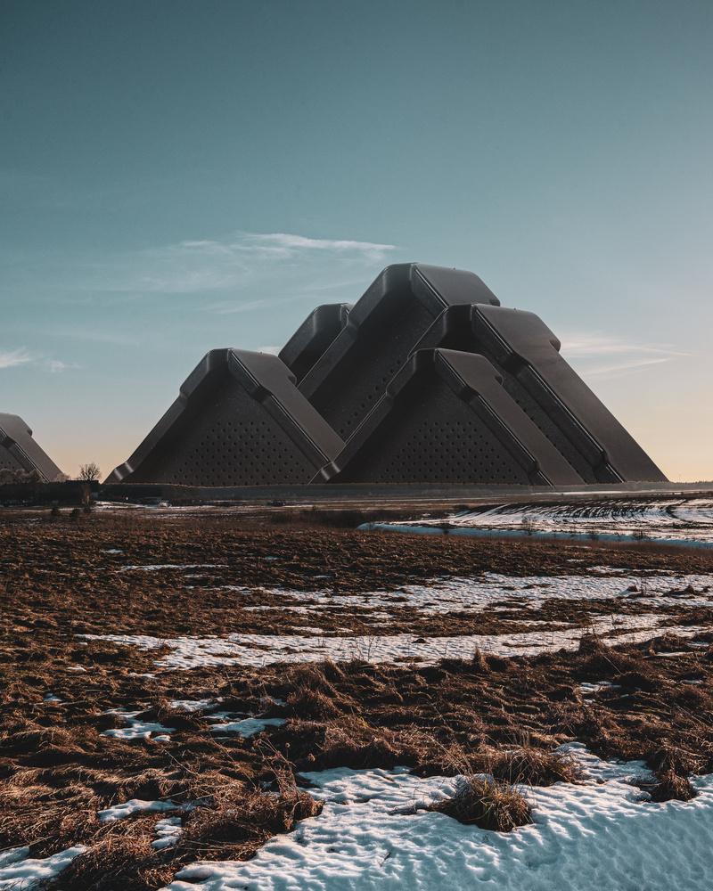 Mountain Pyramids by Vaidotas Darulis