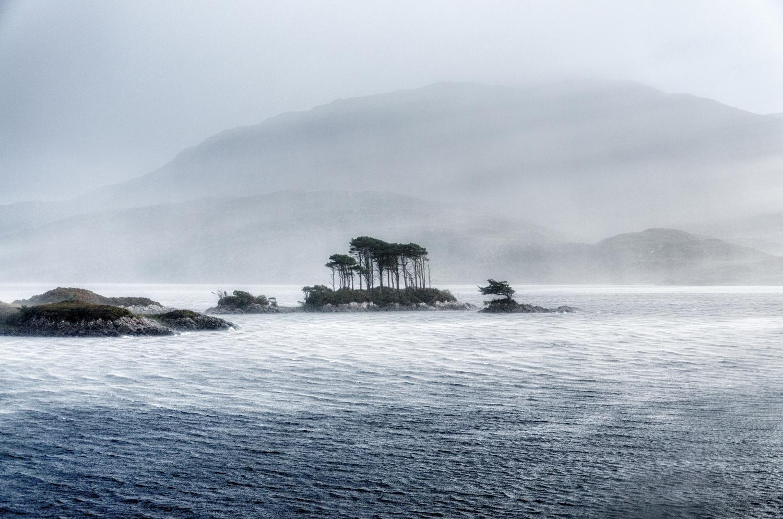 Loch Assynt Storm by David Russell