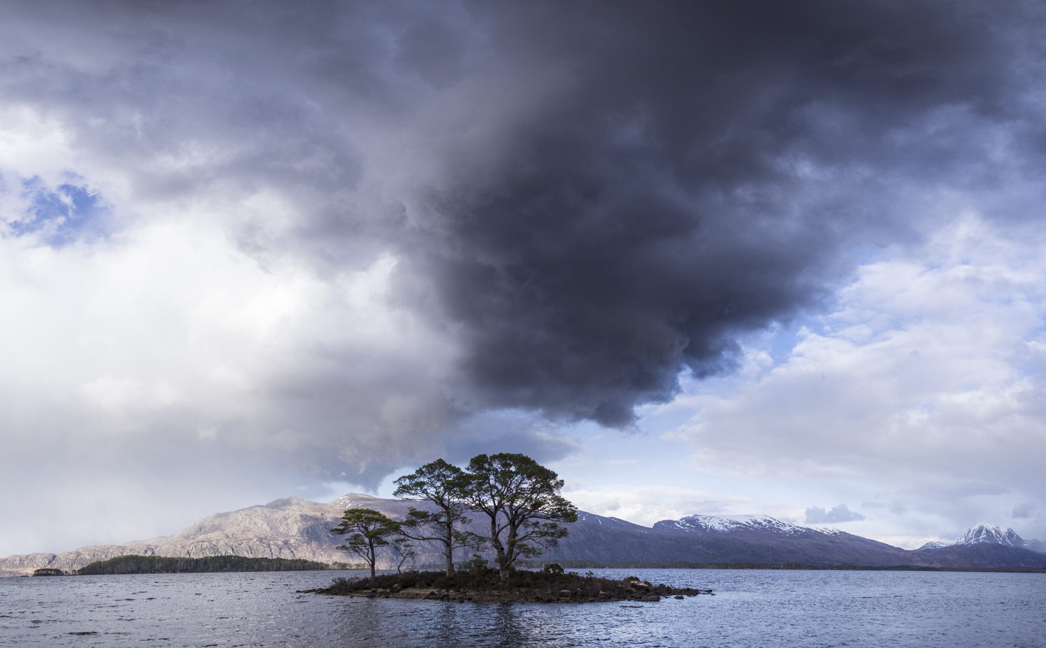 Storm Cloud at Loch Maree by David Russell