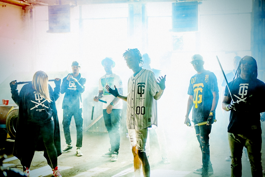 Wiz Khalifa and the Taylor Gang by Mark Fore