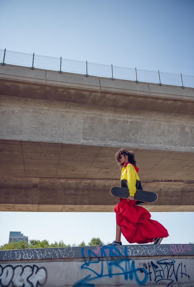 Skate Walk by Hugue-Robert Marsan