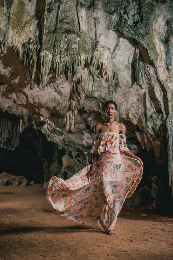 Cave woman by Hugue-Robert Marsan