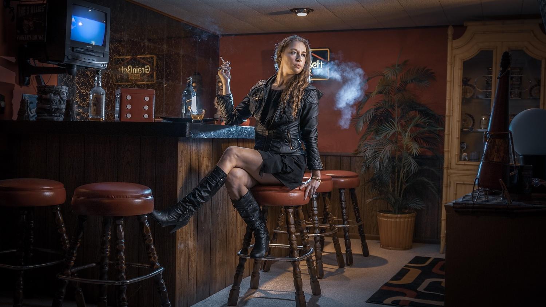 Smoking beauty by Matt Munn