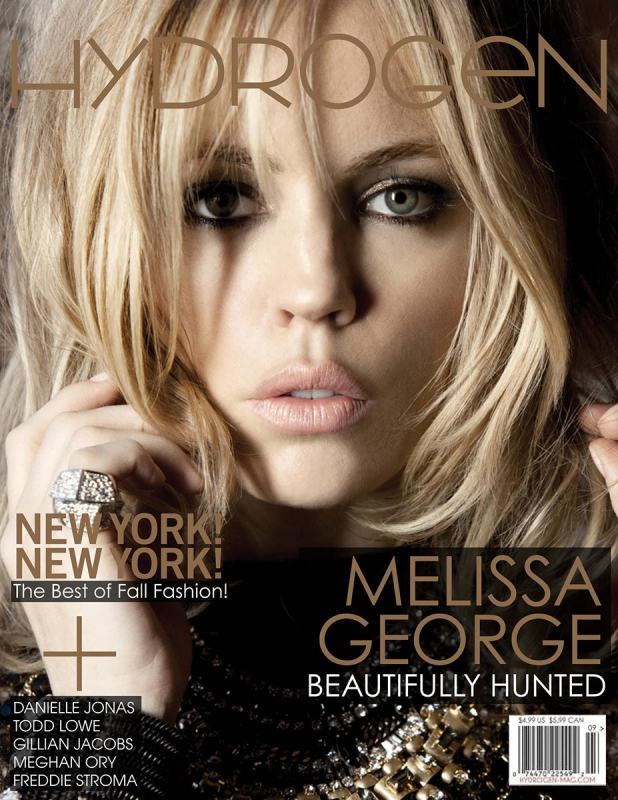 Melissa George for Hydrogen Magazine by Corina Marie Howell