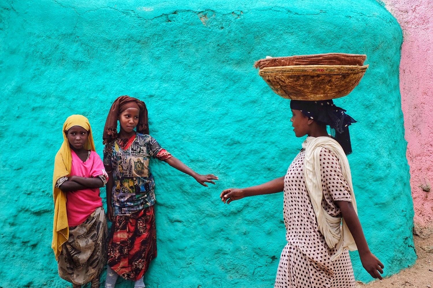 Colorful Harar by Gil Kreslavsky