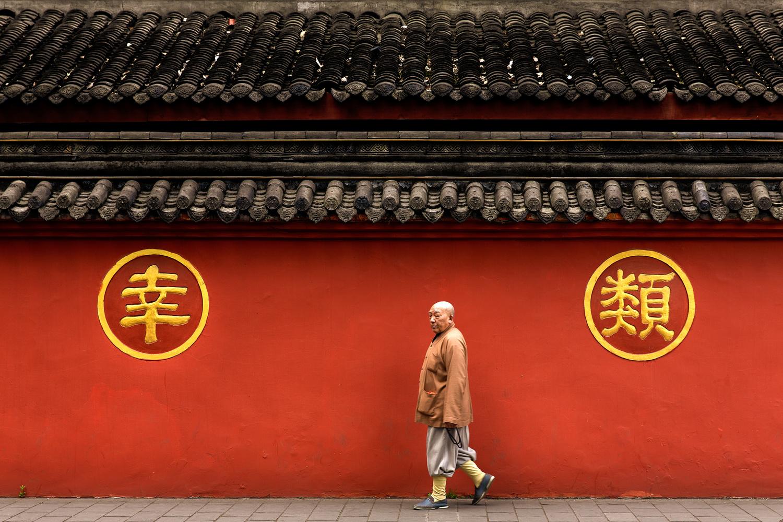 Tao monk by Gil Kreslavsky