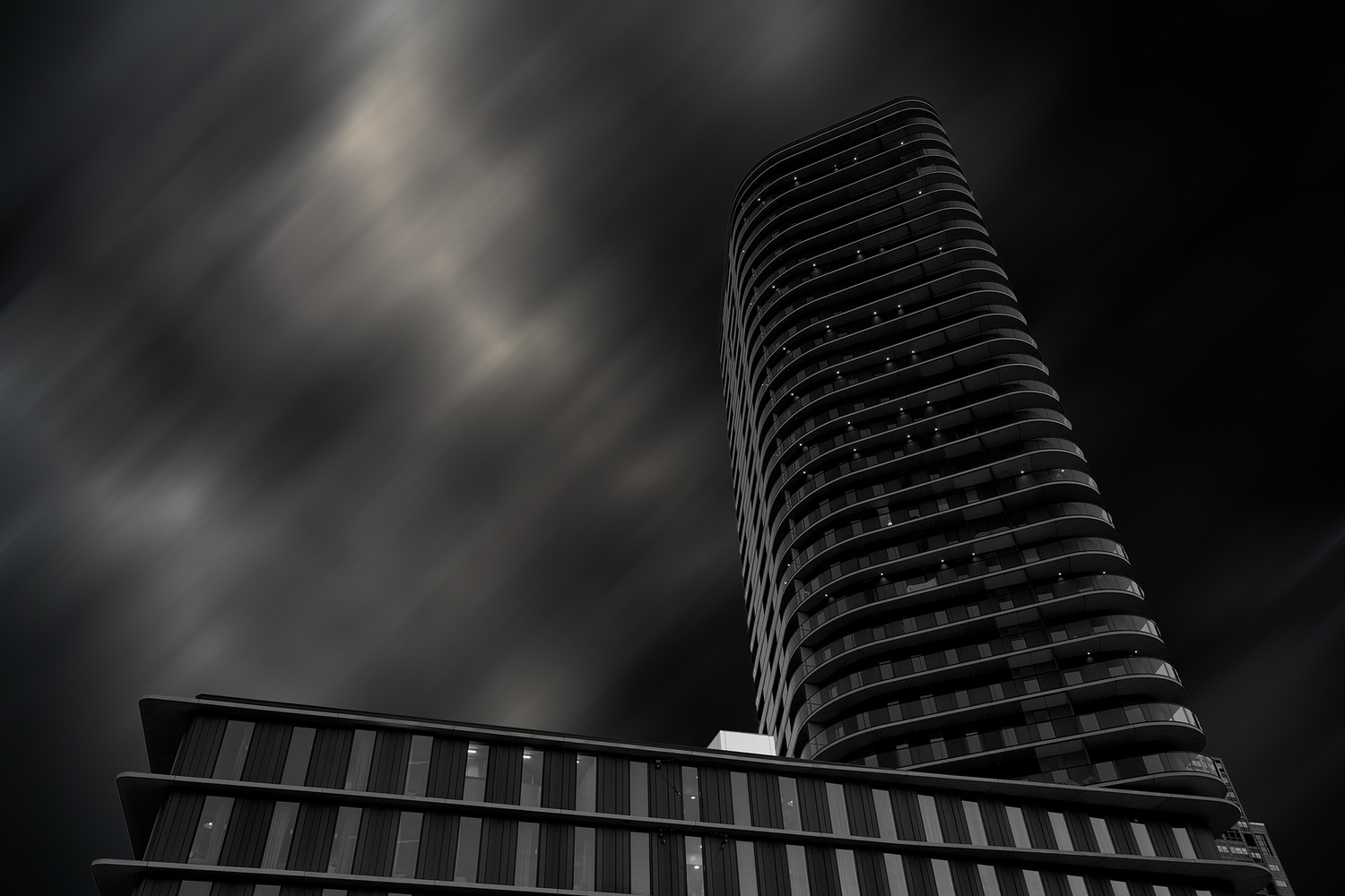 urban shapes by Otto Schlemmer