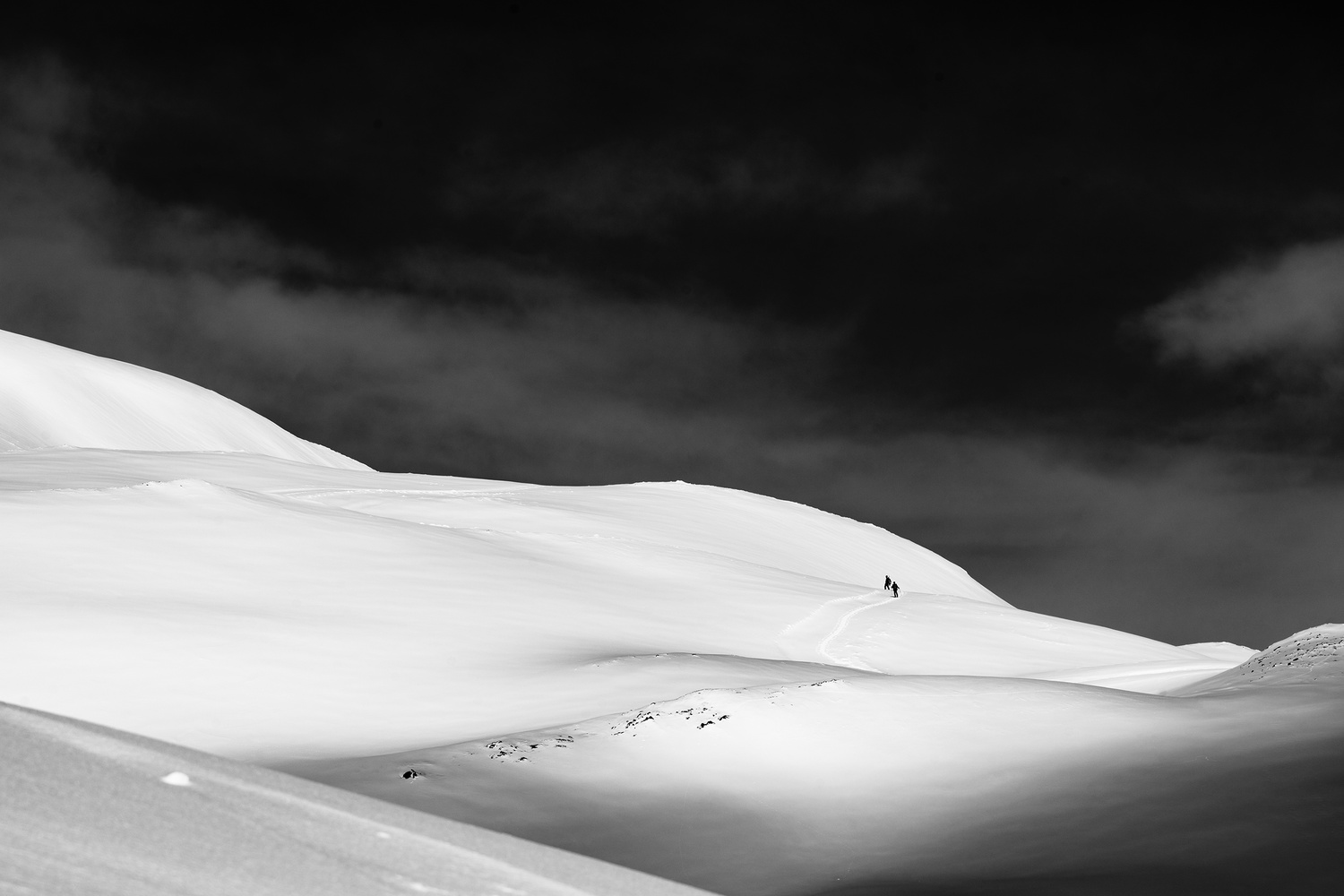 lonely wanderers by Otto Schlemmer
