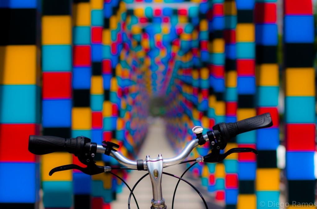 I love my bike by Diego Ramos