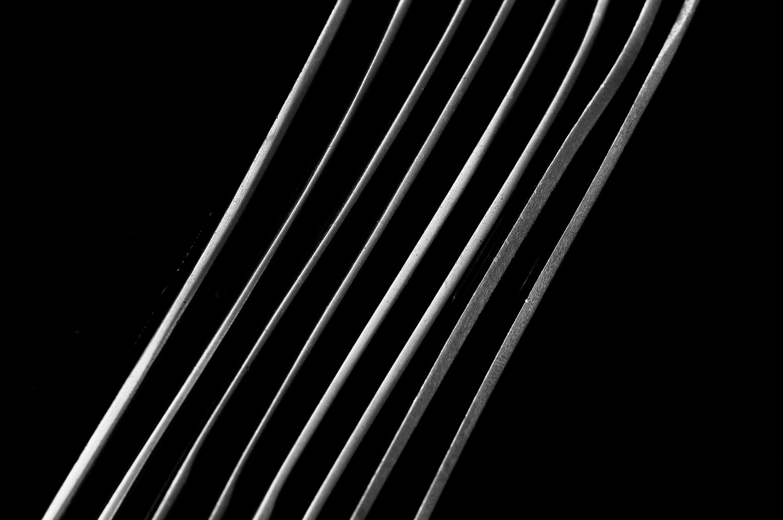 spoons/forks on thier side by Jeremy Martignago