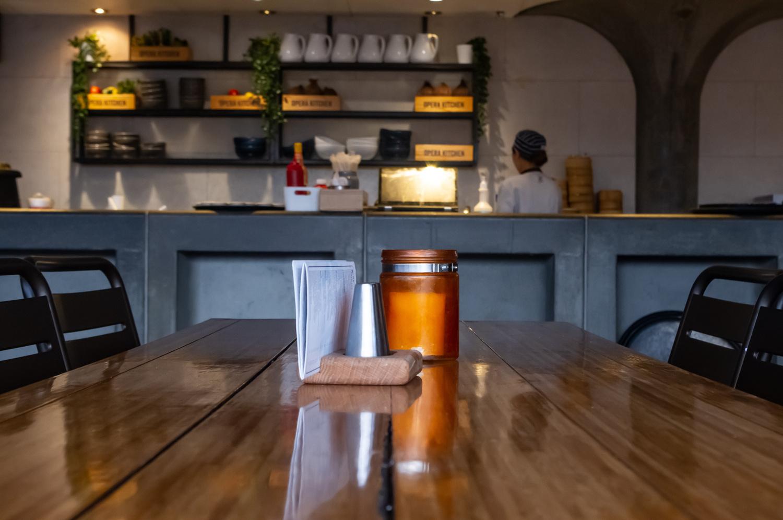 shiny tables by Jeremy Martignago