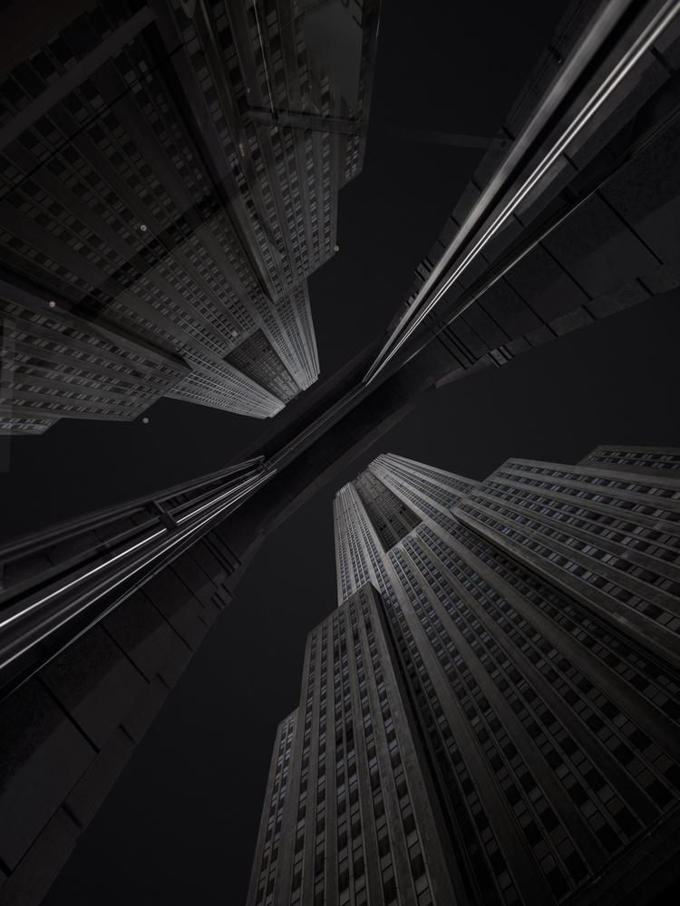 Empire State Building by Mathijs van den Bosch