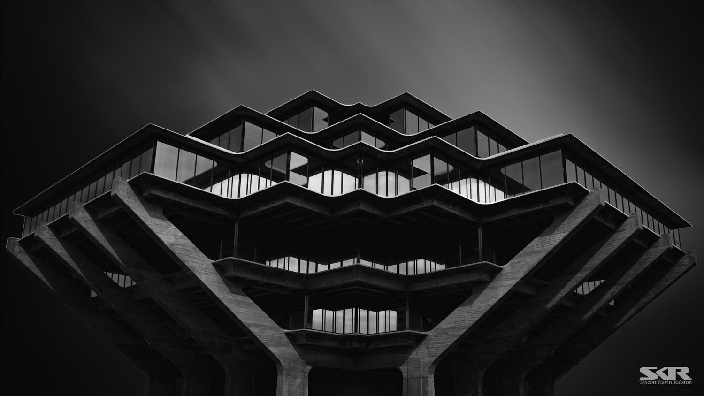 Geisel Library UC San Diego by Scott Ralston