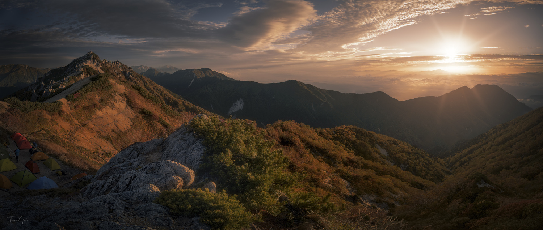 Live with mountains by Taisuke Goto