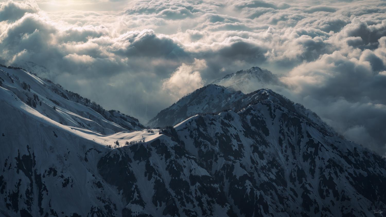 Cloud and light by Taisuke Goto