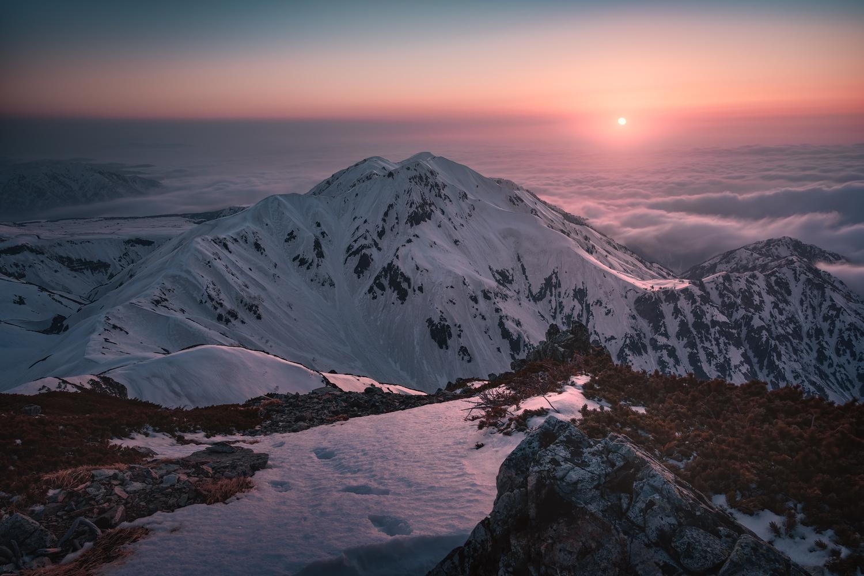 A Sunset by Taisuke Goto