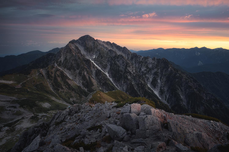 Ridge of dawn by Taisuke Goto