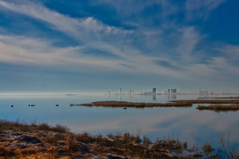 Atlantic City from Afar by MARIE LOCH