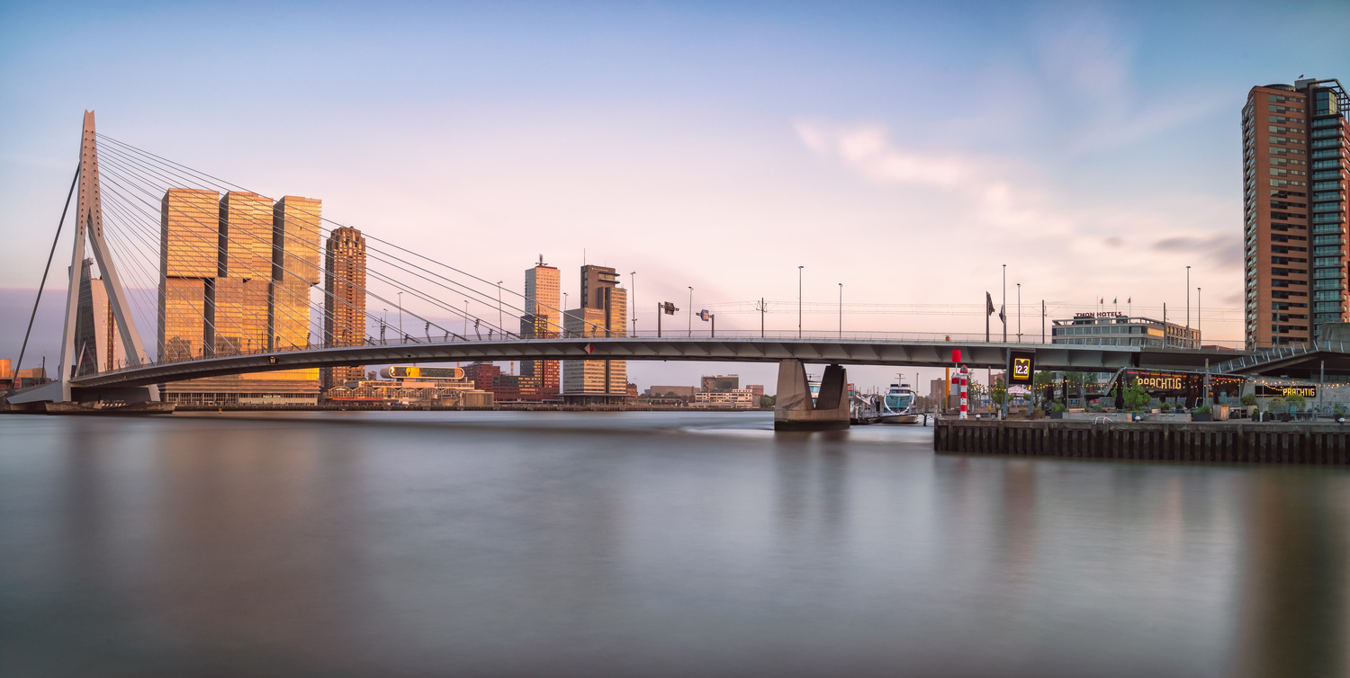 Erasmusbrug Pano by Brent Guiliano